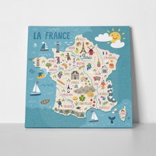 Stylized map france 589196000 a