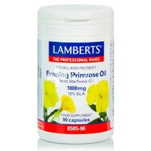 Lamberts EVENING PRIMROSE OIL & STARFLOWER OIL 1000 mg  (Ω6), 90 caps