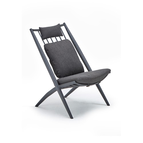 Bahza lounge chair ALU