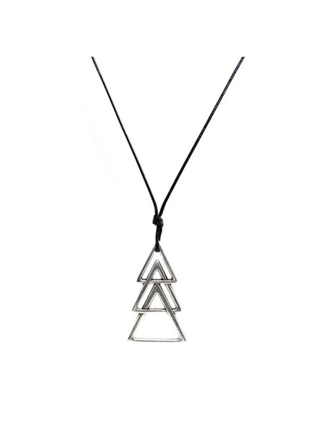 MILLIONALS TRIANGLES CORD NECKLACE