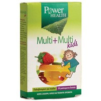 POWER HEALTH MULTI+MULTI KIDS 30CHEW. TABL
