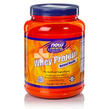 Now Sports Whey Protein - Natural VANILLA, 907 gr