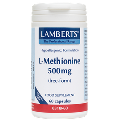 Lamberts L-Methionine 500mg 60 κάψουλες