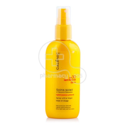 GALENIC - SOINS SOLEIL Spray Ultra Legere Spray Corps et Visage SPF30 - 125ml