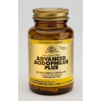 SOLGAR ADVANCED ACIDOPHILUS PLUS 60VEG CAPS