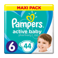 PAMPERS - MAXI PACK Active Baby Νο6 (13-18kg) - 44 πάνες
