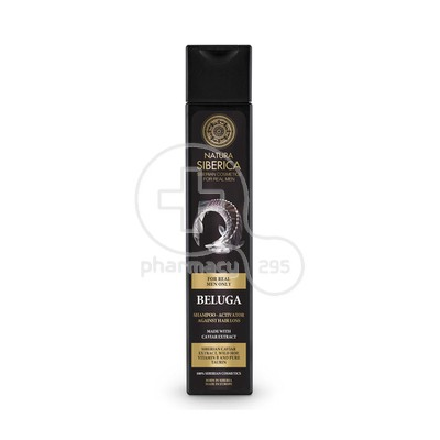NATURA SIBERICA - MEN Hair Growth Shampoo Activator Beluga - 250ml