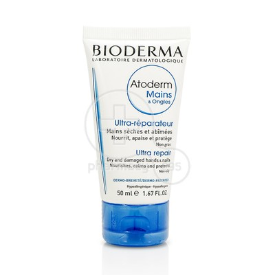 BIODERMA - ATODERM Mains & Ongles Ultra Reparateur - 50ml