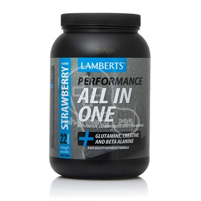 LAMBERTS - ALL IN ONE Performance Powder (Strawberry) - 1450gr
