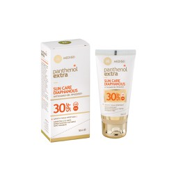 Medisei Panthenol Extra Sun Care Diaphanous Face Gel SPF30 Αντηλιακό Gel Προσώπου 50ml