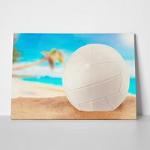 White volleyball ball 1086492923 a