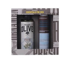 Korres PROMO PACK Essentials for Men Αφρόλουτρο Olive Cedar 250ml & After Shave με Καλέντουλα και Ginseng 200ml.