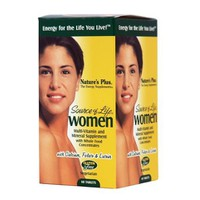 NATURE`S PLUS SOURCE OF LIFE WOMEN'S MULTI-VITAMIN 60 CAPS
