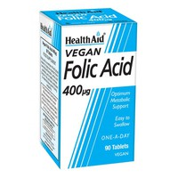 HEALTH AID FOLIC ACID 400MG 90TABS