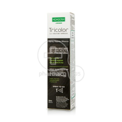 HOMOCRIN - TRICOLOR Spray Quick Touch Up (Black) - 75ml