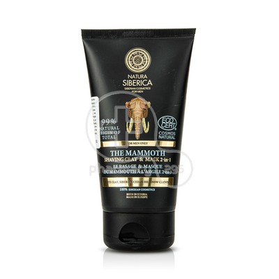 NATURA SIBERICA - MEN The Mammoth Shaving Clay & Mask 2 in 1 - 150ml