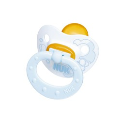 NUK Baby Rose & Blue Rubber Pacifier