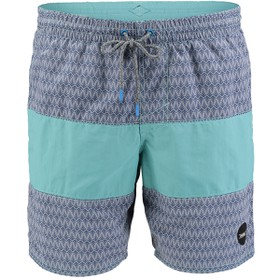 CROSS STEP PATTERN SHORTS  Βερμ. Εισ.