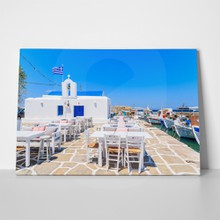 Square typical white greek church naoussa tavern 435844402 a