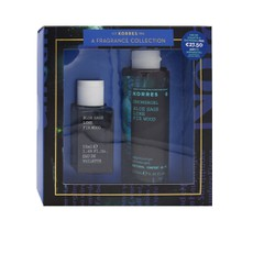 Korres PROMO PACK Blue Sage Lime Fir Wood A Fragrance Collection Eau De Toilette  50ml & Δώρο Blue Sage Lime Fir Wood Showergel 250ml.