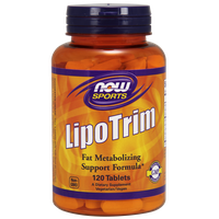 NOW LIPOTRIM HIGH POTENCY WITH L-CARNITINE AND CHROMIUM 120 TABS