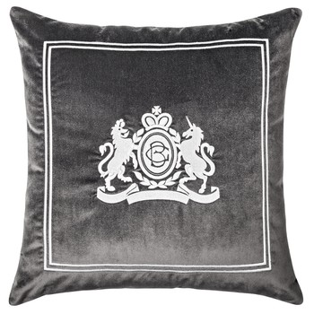 Velvet Pillow in Grey Colour