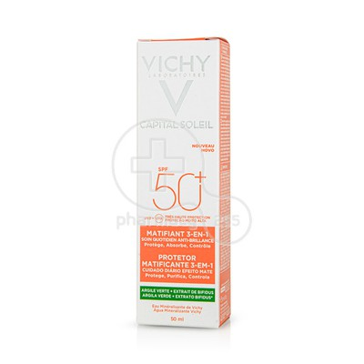 VICHY - CAPITAL SOLEIL Matifiant 3-en-1 SPF50+ - 50ml
