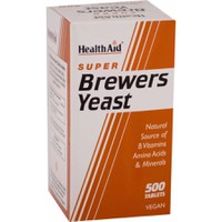 HEALTH AID SUPER BREWERS YEAST 300MG 500VEG.TABL