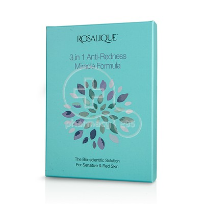 ROSALIQUE - PROMO PACK 3in1 Anti Redness Miracle Formula SPF50 - 30ml ΜΕ ΔΩΡΟ Miracle Brush