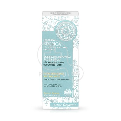 NATURA SIBERICA - SOPHORA JAPONICA Face Serum - 30ml Oily Combination Skin
