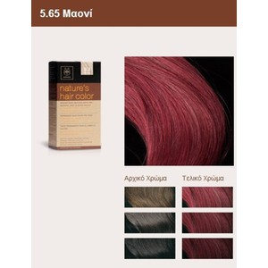 Apivita nature s hair color 5.65