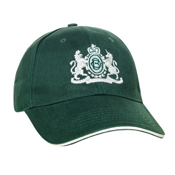 Green Jockey Hat