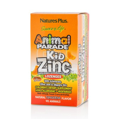 NATURE'S PLUS - SOURCE OF LIFE ANIMAL PARADE Kid Zinc - 90chew.tabs