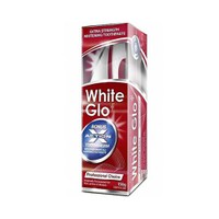 WHITE GLO TOOTHPASTE PROFESSIONAL CHOICE 150GR (PROMO+ΟΔΟΝΤΟΒΟΥΡΤΣΑ+ΜΕΣΟΔΟΝΤΙΑ ΒΟΥΡΤΣΑΚΙΑ)