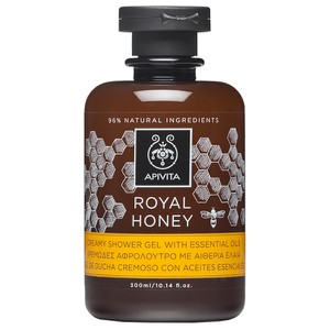 APIVITA Royal honey creamy shower gel with essential oils 250ml