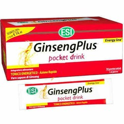 Esi Ginseng Plus pocket drink 16 sachets
