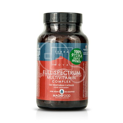 TERRANOVA - Full Spectrum Multivitamin Complex 450mg - 100caps