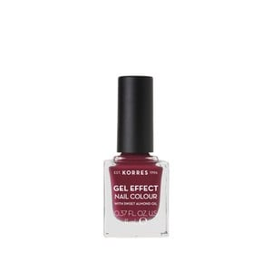 KORRES Gel effect nail colour N74 berry addict 11ml