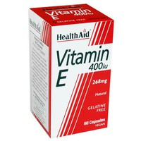 HEALTH AID VITAMIN E 400IU 30VEG.CAPS