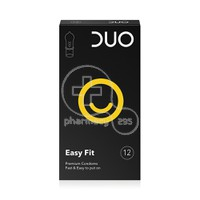 DUO - Προφυλακτικά Easy Fit -12pacs