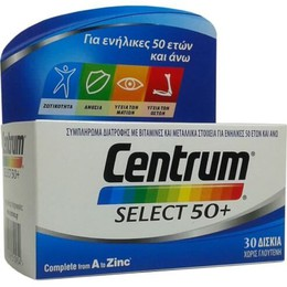 Centrum  Select 50+ Complete from A to Zinc, 30 tab
