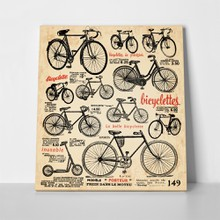 Retro bicycle a