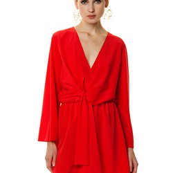 109620cda312 Κρουαζέ φόρεμα με φαρδύ μανίκι - Toi moi