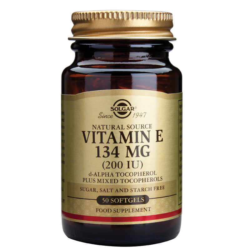 Vitamin E Natural 200IU softgels