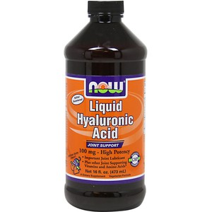 Now foods liquid hyaluronic acid 100mg