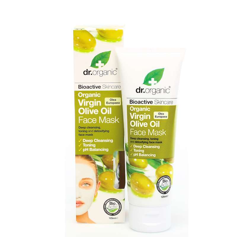 Organic Virgin Olive Oil Face Mask