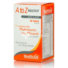 Health Aid A to Z Multivit, 90 veg. tab.