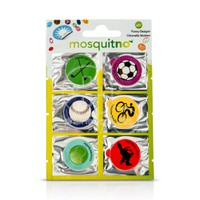 MOSQUITNO - Fun Citronella Stickers - 6pcs