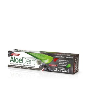Aloedent charcoal
