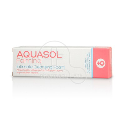 AQUASL - FEMINA Intimate Cleansing Foam - 40ml